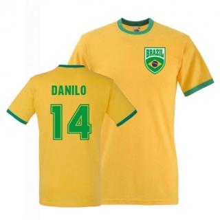 Brazília Danilo tričko žlté pánske empty 4aa6867c173