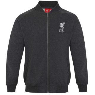 31b71dc852a0 Liverpool FC bejzbolová bunda šedá pánska empty