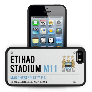 Manchester City kryt na iPhone 5 / iPhone 5S - SKLADOM