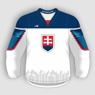 c48604053efe1 Slovakia Slovensko dres biely detský - replika (2019) + vlastné meno a číslo  empty