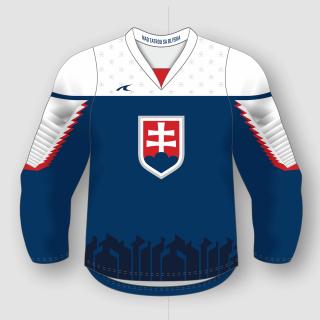594399288a2d2 Slovakia Slovensko dres modrý - replika (2019) + vlastné meno a číslo empty