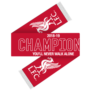Liverpool FC Champions League Winners 2019 šál - SKLADOM