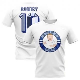 5355d03fa Anglicko Wayne Rooney tričko biele detské empty