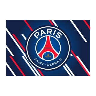 Paris Saint Germain - PSG vlajka modrá