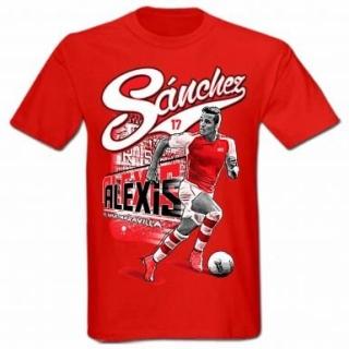 Arsenal Alexis Sánchez tričko červené detské empty 1a24fda2a74
