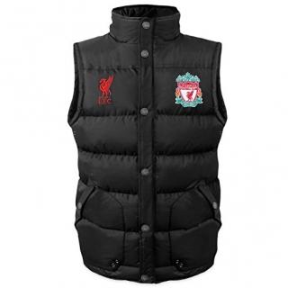 Liverpool FC vesta čierna pánska empty 16190ce7a1