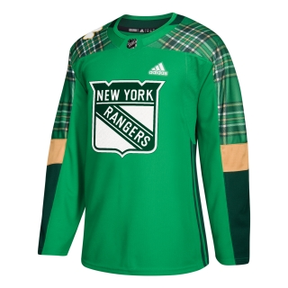 Adidas New York Rangers adizero Authentic St. Patrick's Day dres