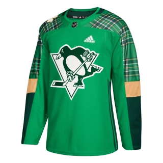 Adidas Pittsburgh Penguins adizero Authentic St. Patrick's Day dres