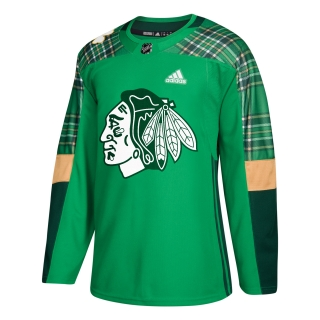 Adidas Chicago Blackhawks adizero Authentic St. Patrick's Day dres
