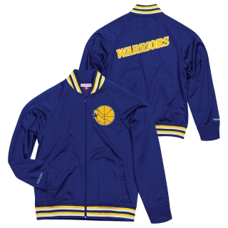 Mitchell & Ness Golden State Warriors bunda modrá pánska