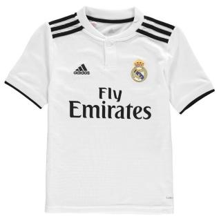9ad066e2b08f0 Adidas Real Madrid dres detský (2018-2019), domáci + vlastné meno a empty