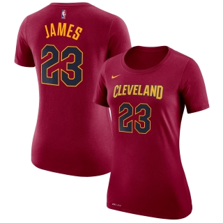 51ebae849f16a Nike Cleveland Cavaliers Lebron James tričko bordové dámske empty